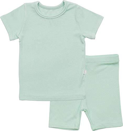 AVAUMA Newborn Baby Little Boys Snug-Fit Pajamas