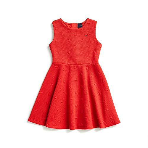 Tommy Hilfiger Girls' Big Adaptive Sleeveless Dress