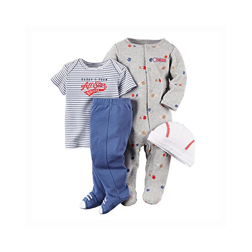 Carter's Baby Boys' 4 Piece Layette Set (Baby)