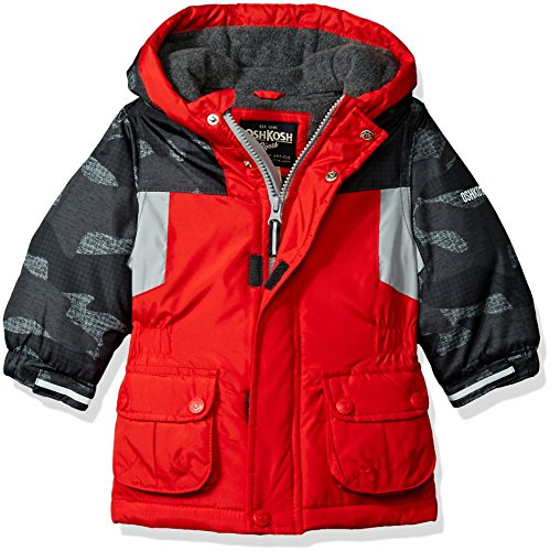 OshKosh B'Gosh Baby Boys Awesome Heavyweight Blocked Jacket Coat