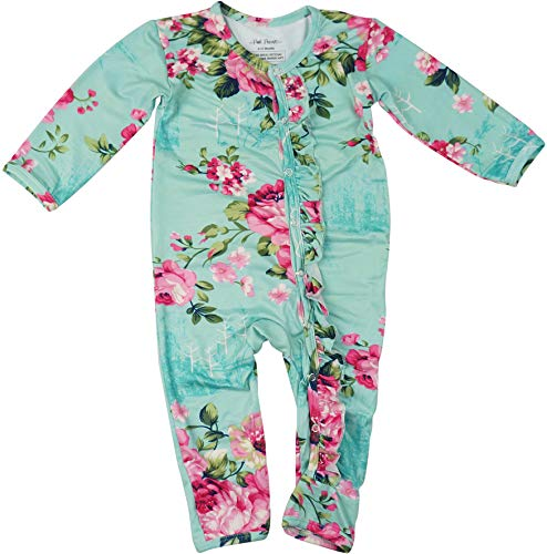 Posh Peanut One Piece Baby Romper Silky Soft & Breathable