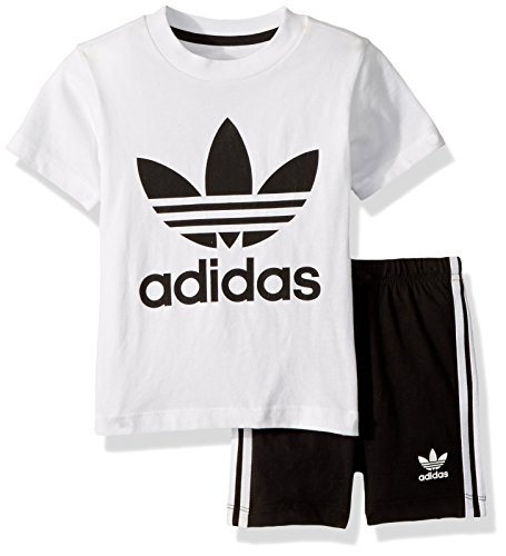 adidas Originals Baby Boys Originals Short & Tee Set