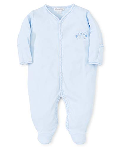 Kissy Kissy Baby-Boys Infant Owl Power Blue Footie-Light Blue