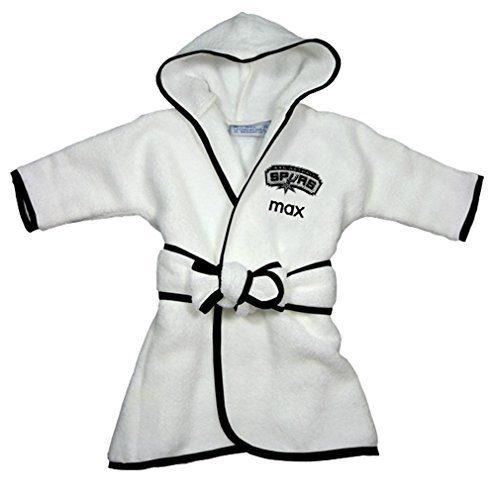 Custom San Antonio Spurs Hooded Baby Bath Robe