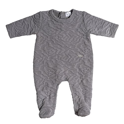 Jack & Jill Baby Boy Footie- Thick Textured Cotton