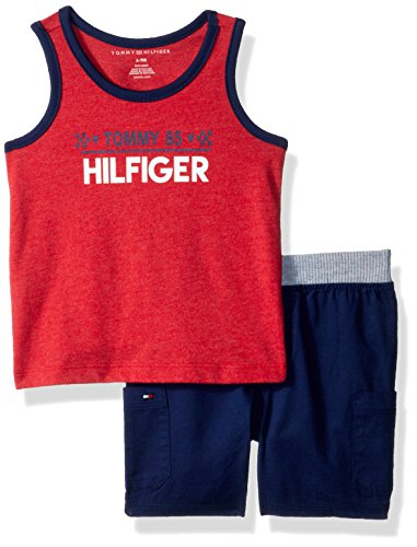 Tommy Hilfiger Baby Boys 2 Pieces Tank Shorts Set