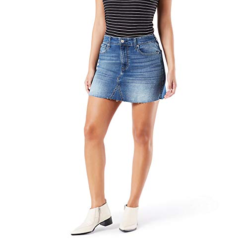 Signature by Levi Strauss & Co Women's Mid-Rise Mini Skirts