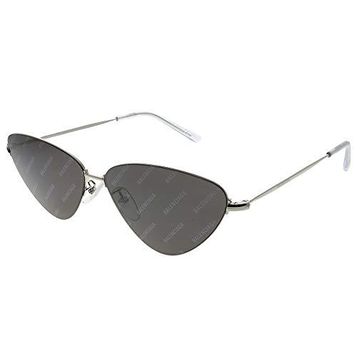 Balenciaga Sunglasses Silver, Grey Mirror Lens