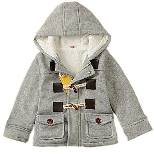 GETUBACK Baby Boy's Hooded Fleece Coat Winter