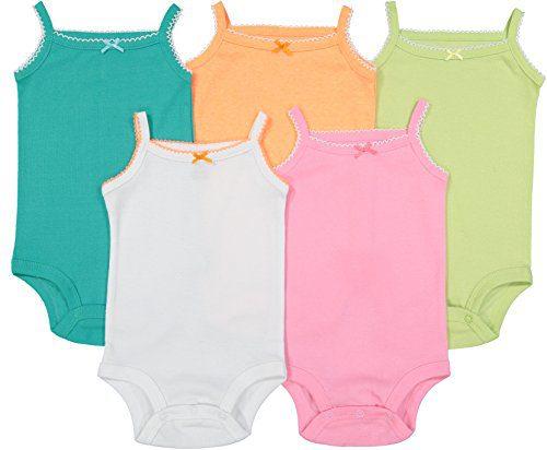 Cute Baby Sleeveless Bodysuits | Beautiful Multicolored Onesies