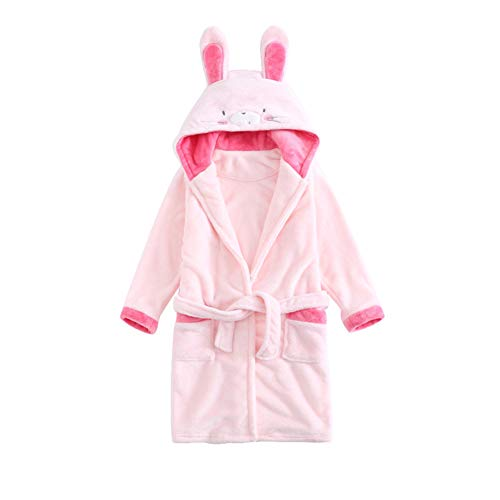 Toddler Baby Bathrobes for Boys Girls Soft Flannel Robe Kid