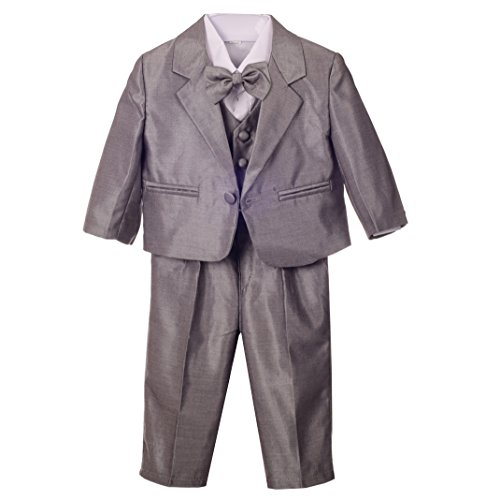 Dressy Daisy Baby Boys' Formal Dress Suit Tuxedo