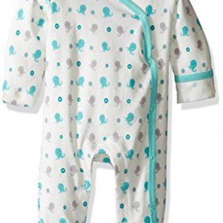 Babysoy Organic Cotton Pattern Footie (Baby)