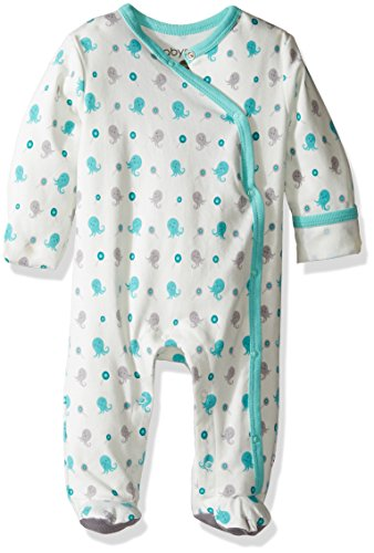 Babysoy Organic Cotton Pattern Footie (Baby)