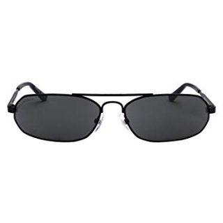 Balenciaga Women's Black Metal Sunglasses