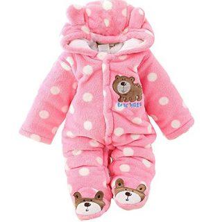 Gaorui Newborn Baby Jumpsuit Outfit Hoody Coat Winter Infant