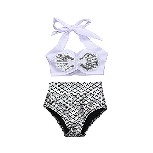 Baby Girls Bikini Set 2Pcs Swimwear Swimsuit Bathing