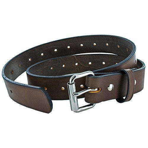 Hanks The Gunner Utility CCW Gun Belt - Brown - Size 42