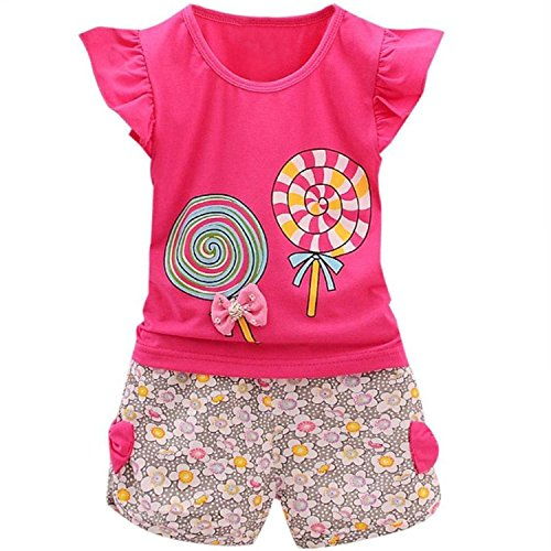 Adorable Cute Toddler Baby Girl Clothes Set Long Sleeve