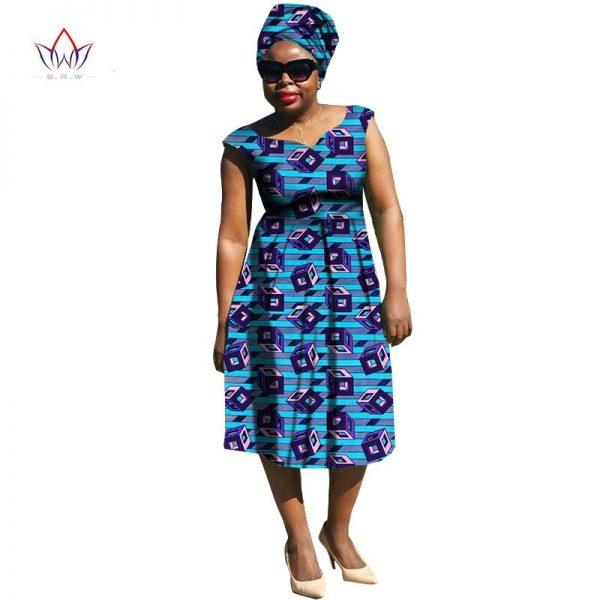 African Dresses Women summer Dress Brazil Maxi Plus Size Sleeveless