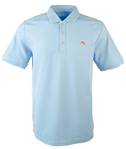 Tommy Bahama Men's Big and Tall Emfielder Polo Shirt-LS-XLT