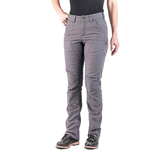 Dovetail Workwear Pants for Women: Britt Utility Straight Fit