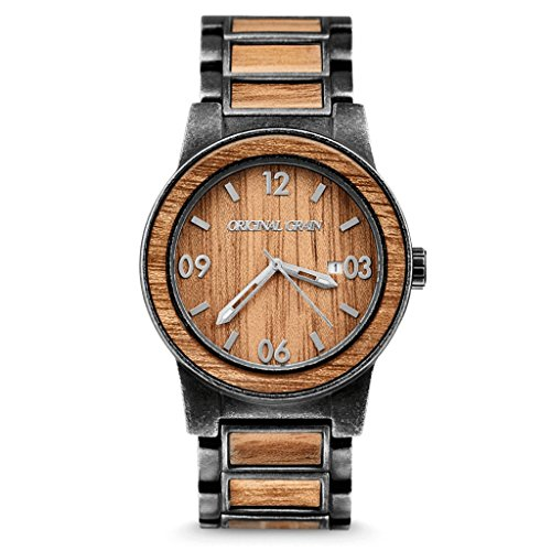 New Original Grain Wood Wrist Watch | Barrel Collection