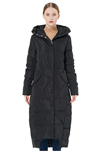 Orolay Women's Puffer Down Coat Winter Maxi Jacket