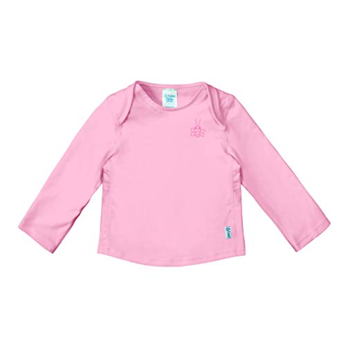 i play. Baby Girls, Light Pink Easy-On, 12 Months