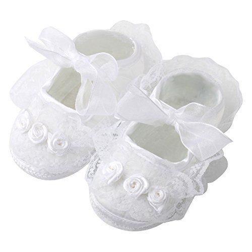 Slowera Baby Girls Soft Soled Princess Shoes