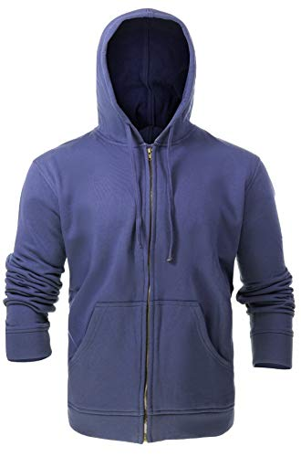 Flame Resistant FR Fleece Hoodies - 100% C - Heavy Weight