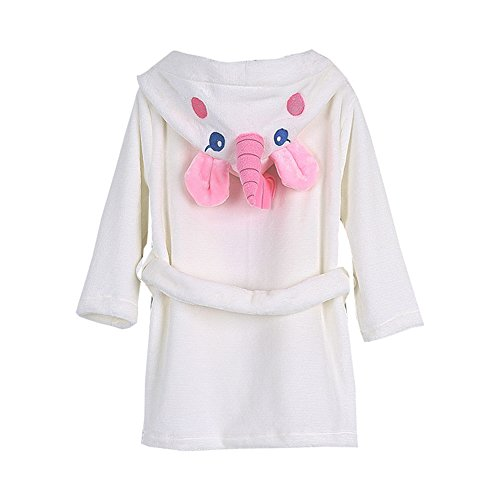 Toddler Baby Bathrobes for Girls Boys Soft Cotton Robes