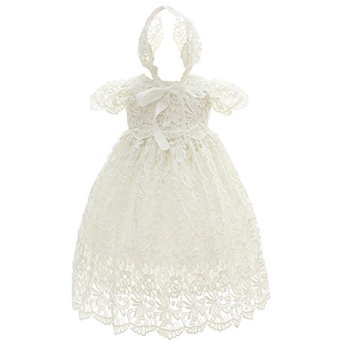 Coozy Baby Girl Special Occasion Dress 2PCS Christening Baptism