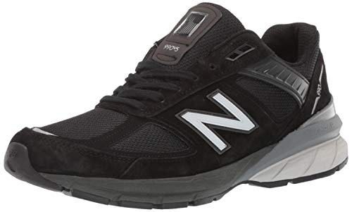New Balance Men's Sneaker, Black/Silver