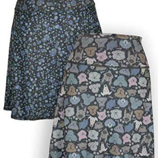 Green 3 Novelty Reversible Skirt - Womens Recycled Skirt