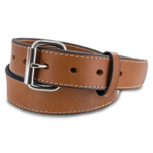 "Hanks Stitched Gunner Belts -1.5"" - Best Value in A Concealed Carry Belt"