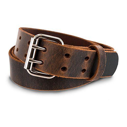 Hanks Legend - Men's Double Prong Leather Belt
