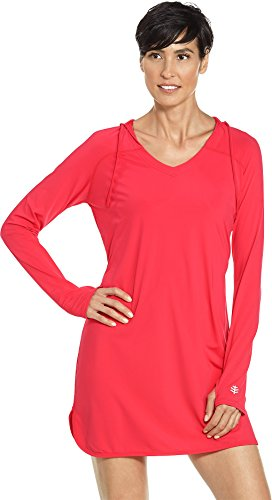Coolibar UPF 50+ Women's Seacoast Swim Cover-Up Dress