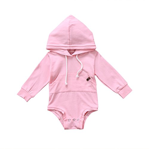 bebiullo Newborn Baby Girl Boy Clothes Hoodie