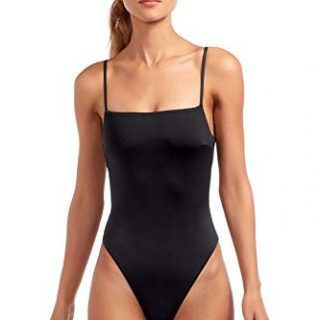 Vitamin A Women's Edie Lingerie Strap One Piece Swimsuit