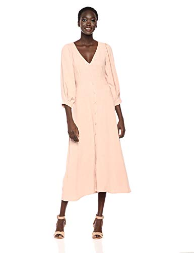 Rachel Pally Women's Linen Agnes Dress, Sand, L