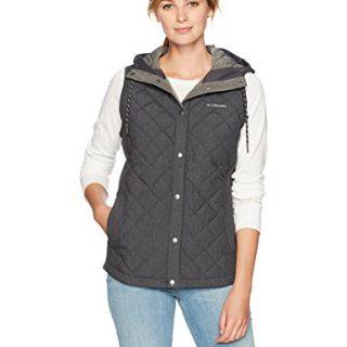 Columbia Women's Evergreen State Vest, Shark Heather