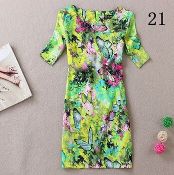 New women summer dress vestidos style plus size