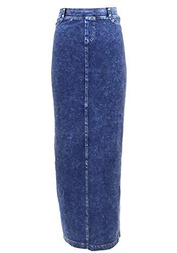 Hard Tail hardtail Long Denim Pocket Skirt