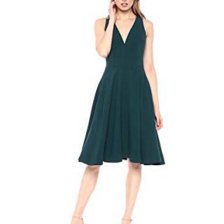 Dress the Population Women's Catalina Solid Sleeveless