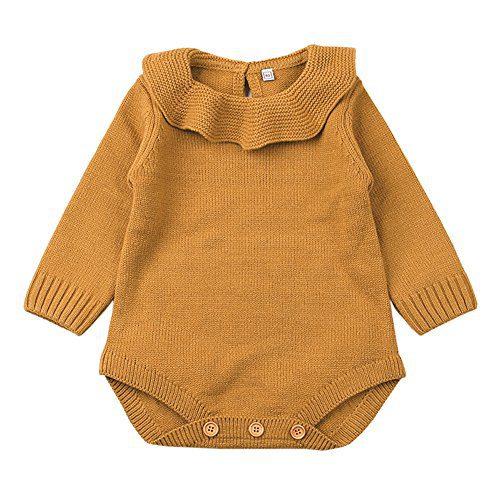 XARAZA Newborn Baby Girls Princess Knitted Sweater