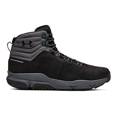 Under Armour Men's Culver Mid Waterproof Sneaker, Black