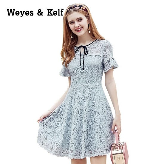 Weyes & Kelf Sweet Lace Summer Dress Women