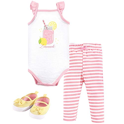 Hudson Baby Unisex Baby Bodysuit, Pants/Shorts and Shoes