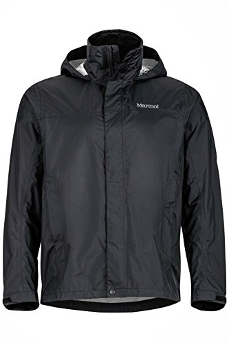 Marmot Men's PreCip Jacket, Black X-Large
